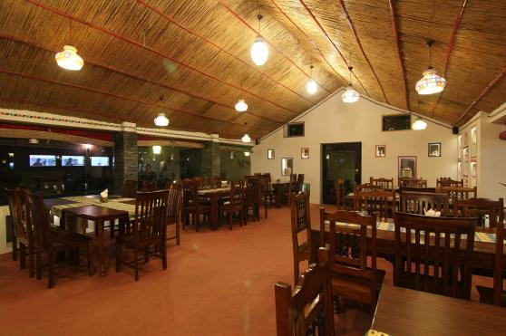 A view of the interiors of Handi Restaurant